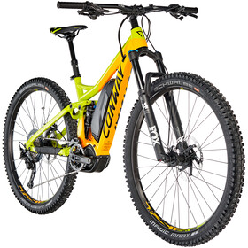 Conway eWME 629 E-MTB fullsuspension gul/orange